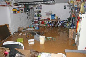 sewage cleanup
